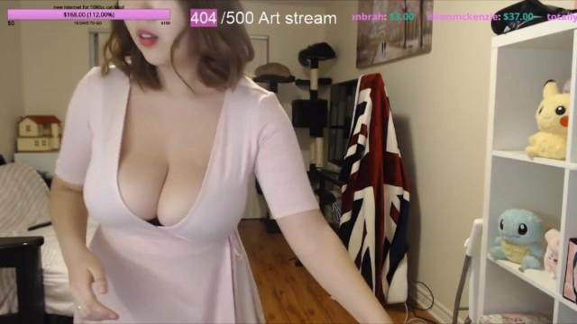 Tits on twitch